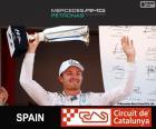 Rosberg G.P Spain 2015