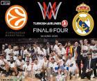 Real Madrid, Euroleague 2015