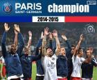 PSG, champion 2014-2015