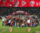 Sevilla, champion Europa League 14-15