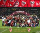 Sevilla, champion Europa League 14-15