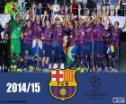 FC Barcelona, champion UEFA Champions League 2014-2015