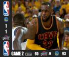 2015 NBA The Finals, Game 2, Cleveland Cavaliers 95 - Golden State Warriors 93