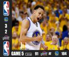 2015 NBA The Finals, Game 5, Cleveland Cavaliers 91 - Golden State Warriors 104
