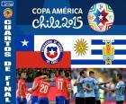 CHI - URU, Copa America 2015