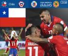 CHI finalist, Copa America 2015