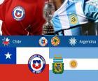 CHI - ARG, final Copa America 2015