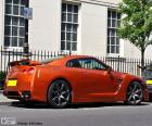 The Nissan GT-R is a sports car created by the Japanese manufacturer Nissan