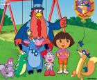 Dora with some friends