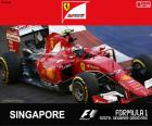Räikkönen 2015 G.P Singapore