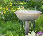 Gardener wheelbarrow