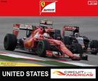 Vettel, 2015 United States Grand Prix