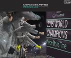 Mercedes AMG Petronas Formula One Team is the champion in the world constructors championship of the Formula 1 2015. For the second consecutive time