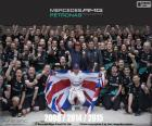 Lewis Hamilton, champion F1 2015