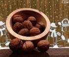 Christmas walnuts