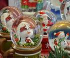 Glass snowballs