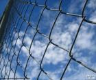 Galvanized metal mesh