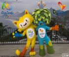 Rio 2016 Olympic mascots