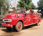 Fire truck, Burma