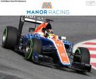 Manor Racing 2016 formed by Pascal Wehrlein, Rio Haryanto and the new MRT05