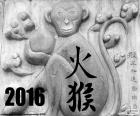 2016 Chinese year of the monkey of fire