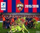 CSKA Moscow, champion 2015-2016