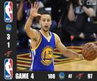 2016 NBA The Finals, Game 4