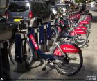 Boris Bikes, London