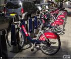 Boris Bikes, London