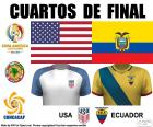 Quarterfinals of the Copa América Centenario 2016, United States vs.Ecuador
