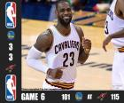 2016 NBA The Finals, Game 6