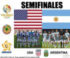 USA-ARG, Copa America 2016
