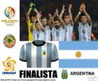 Argentina, first finalist of the Copa América Centenario 2016, after beating United States