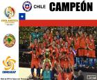 Chile, champion Copa America 2016