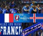 FR-IS, quarter-final Euro 2016