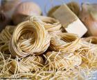 Italian pasta, spaghetti