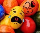 Easter eggs Smiley