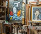 Workshop artist painter