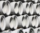 Tubes of concrete
