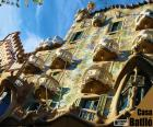Casa Batlló is a modernist building in Barcelona, work of the architect Antoni Gaudí
