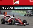 Sebastian Vettel, 2016 Abu Dhabi GP