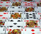 Cards of poker