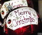 Christmas balls, Merry Christmas