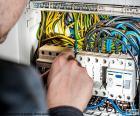 Electrician, distribution board