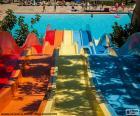 Water slide, Water park