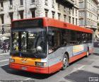 Rome urban bus