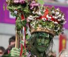 Green man, Carnival