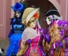 Venetian classic costume