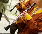 The clarinet is a musical-instrument family belonging to the group known as the woodwind instruments