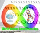 World Autism Awareness Day puzzle